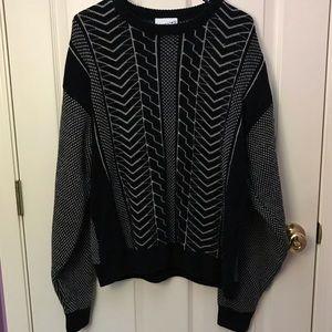 VINTAGE🔥Cozy Sweater Acrylic/Wool Large